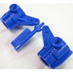 TA01 TOURING CAR FRONT UPRIGHT (BLUE)