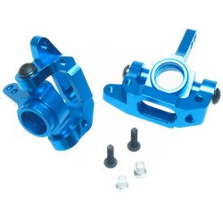 YEAH RACING ALLOY BEARING  TA03 C-HUB WITH KNUCKLE ARM SET