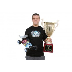 CAMISETA TEAM ASSOCIATED 27 TIME WORLD CHAMPION (TALLA S)