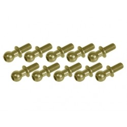 3 RACING 7075 ALUMINUM BALL STUD TEFLON COATED