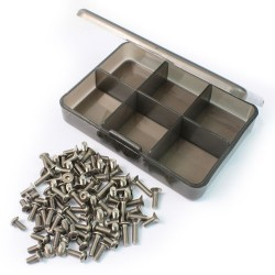 YR TITANIUM SCREW SET WITH  BOX FOR TT02