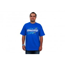ASSOCIATED  SPLASH T-SHIRT, BLUE, SMALL