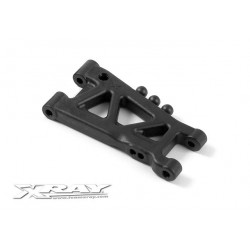 XRAY  REAR SUSPENSION ARM - HARD - 2-HOLE HARD