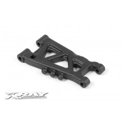 XRAY REAR SUSPENSION ARM - GRAPHITE - 1-HOLE