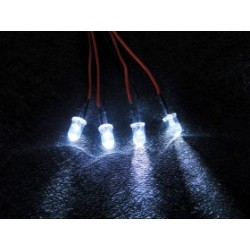 RECAMBIO LUCES LED PARA CENTRALITA (4 LEDS) 3RACING