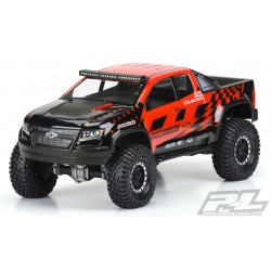 2019 CHEVY COLORADO ZR2 CLEAR BODY