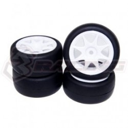 3 RACING RUBBER TIRE SET FOR MINI MG