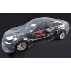 FG 1/5 4X4 KIT ELECTRIC BMW M3 CLEAR BODY 530E