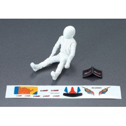 KILLERBODY DRIVER  PLASTIC WITH DECAL SHEET
