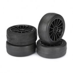 ABSIMA WHEEL SET 15 SPOKE-SLICK BLACK