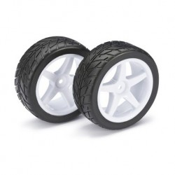 ABSIMA 1/10 WHEEL SET BUGGY STREET FRONT (2PCS)