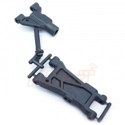 3 RACING F & R COMPOSITE FRONT SUSPENSION ARM FOR SAKURA D4