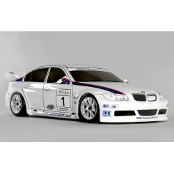 FG 1/5 4X4 KIT ELECTRIC BMW 320SI WHITE BODY 530E