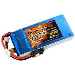 GENS ACE 6.6V 2250MAH TX 2S1P LIFE BATTERY PACK