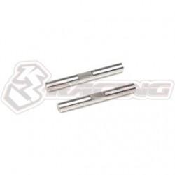 3 RACING  SAKURA MINI MG REAR OUTER PIN SET (M2.6X25MM)