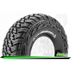LOUISE CR-GRIFFIN - 1-10 CRAWLER TIRES - SUPER SOFT - FOR 1.9 RIMS