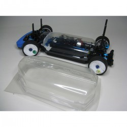 RAIN COVER WITH BULKHEAD FOR TAMIYA TT02