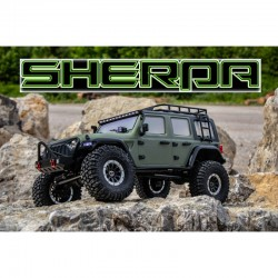 ABSIMA 1/10 SCALE CRAWLER CR 3.4 SHERPA RTR (OLIVE)