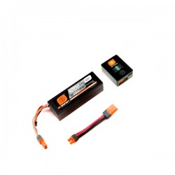 CARGADOR SPEKTRUM S150+SMART LIPO 5000MAH 11.1V 2S 50C HARDCASE IC3