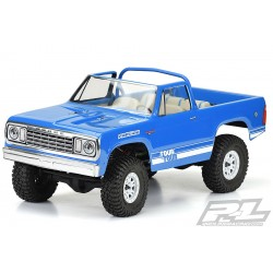 PROLINE 1977 DODGE RAMCHARGER CLEAR BODY FOR 313MMM CRAWLER