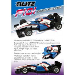 BLITZ F101 F1 RACE BODY (1.0MM)
