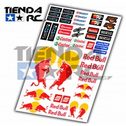 RED BULL DECAL SET