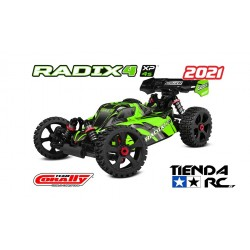 TEAM CORALLY RADIX 4 XP-1/8 BUGGY EP-RTR BRUSHLESS