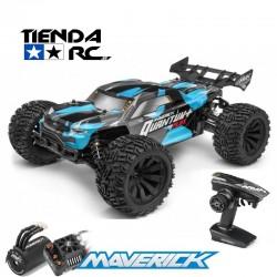 MAVERICK QUANTUM PLUS XT FLUX 3S 1/10 4WD STADIUM TRUCK - BLUE