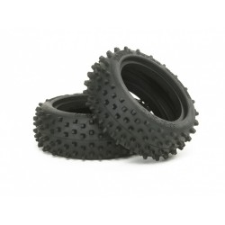 TAMIYA SQUARE SPIKE TIRE (FRONT)