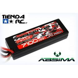 ABSIMA POWER TANK LIPO 7,4V.-60C 7100 HARDCASE