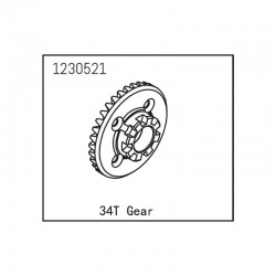 ABSIMA SHERPA DIFFERENTIAL GEAR 34T