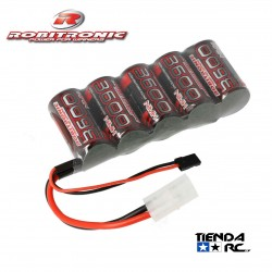 ROBITRONIC EP NIMH 5CELL 3600MAH SUB-C FOR RX 1/5