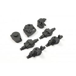 FTX MINI OUTBACK 2.0 TRANSMISS ION GEAR BOX & AXLE SET