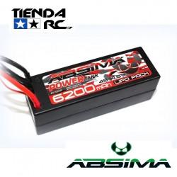 ABSIMA POWER TANK LIPO 14.8V.-60C 6200 HARDCASE