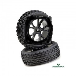 ABSIMA WHEEL SET BUGGY FRONT (2 PCS)