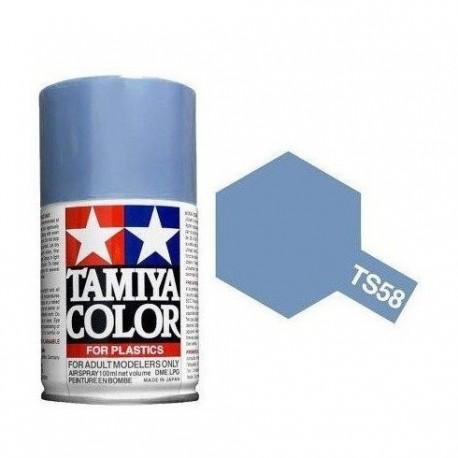TAMIYA TS58 AZUL CLARO NACARADO