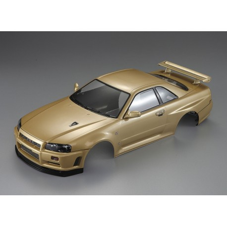 "KILLERBODY NISSN SKYLINE R34 ""CHAMPAGNE-GOLD"" FINISHED BODY"