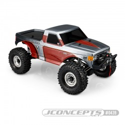 MONKY JCI TUCKED 1989 FORD F-250 BODY CLEAR (CLON JC)