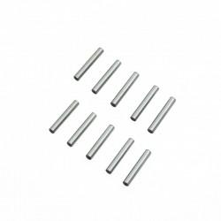ULTIMATE 2.5X15.8MM CHROME STEEL PIN SET (10PCS.)