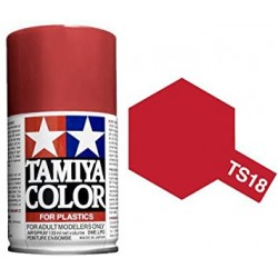 TAMIYA TS18 ROJO METALICO BRILLANTE