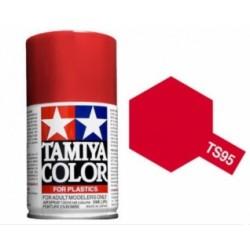 TAMIYA TS95 ROJO PURO METALICO