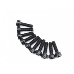 SCREW SOCKET HEAD HEX M4X14 STEEL BLACK (10PCS)