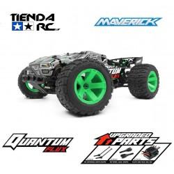 MAVERICK QUANTUM XT FLUX 1/10 4WD STADIUM TRUCK - SILVER
