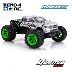 MAVERICK QUANTUM MT FLUX 1/10 4WD MONSTER TRUCK -BLUE