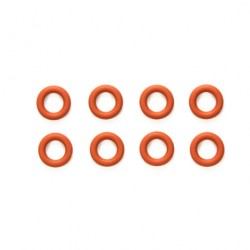 TAMIYA 5MM GEAR DIFFERENTIAL O-RINGS (RED/8PCS)
