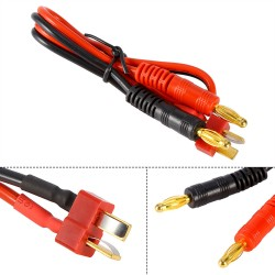CABLE DE CARGA  ADAPTADOR PARA CONECTORES T-PLUG