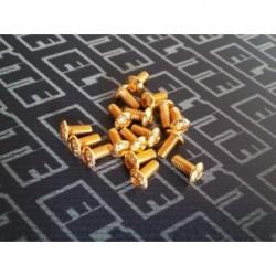ELITE PACK GOLD TORNILLERIA BOTON M3 (80PCS)